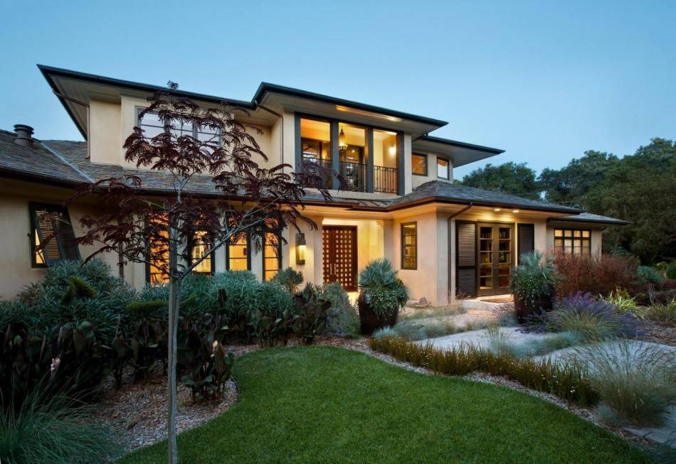 Двухэтажный частный дом — современные проекты, особенности постройки и способы оформления (90 фото)