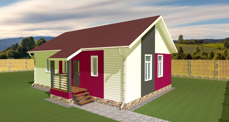 23 красивых проекта домов с односкатной крышей + видео