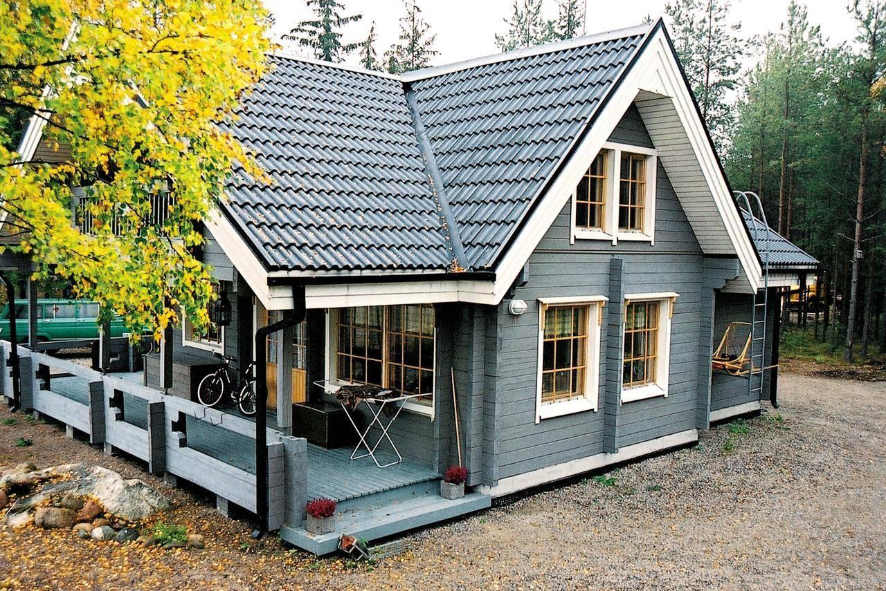 Финские дома: строительство готовых проектов из дерева по технологии