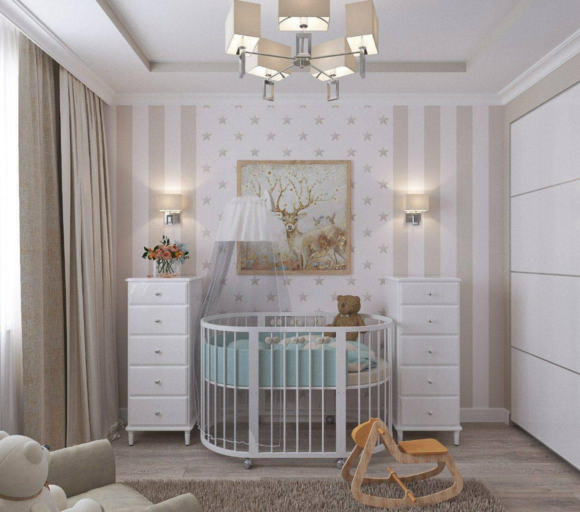 Все о дизайне бежевой детской комнаты
