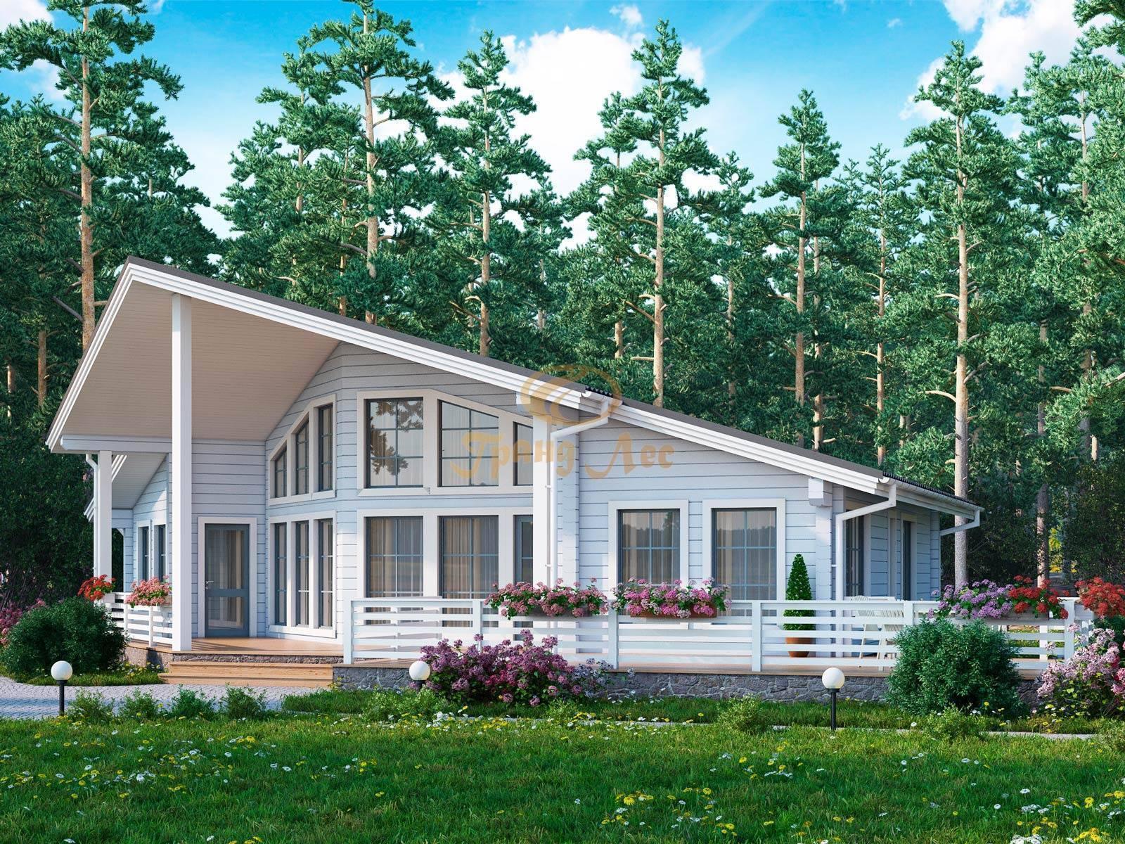 Проекты финских домов и коттеджей