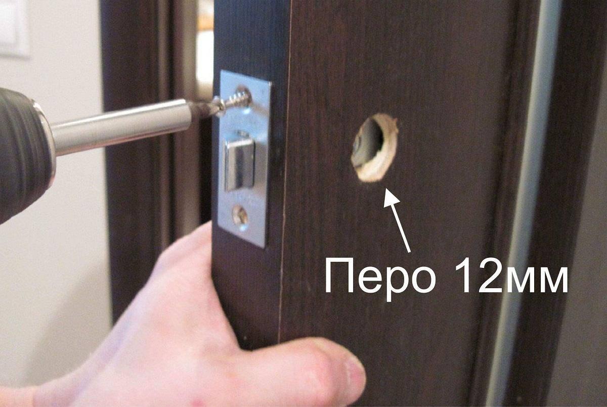 Врезаем замок в межкомнатную дверь: пошаговая инструкция