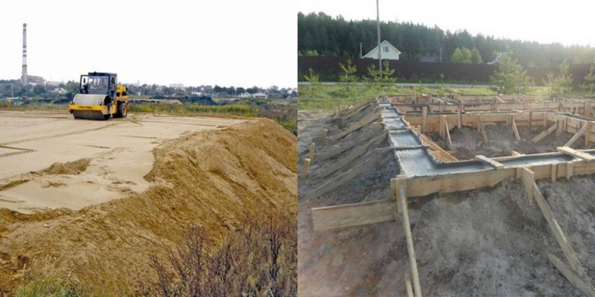 Фундамент на песчаном грунте: как правильно выбрать тип основания
