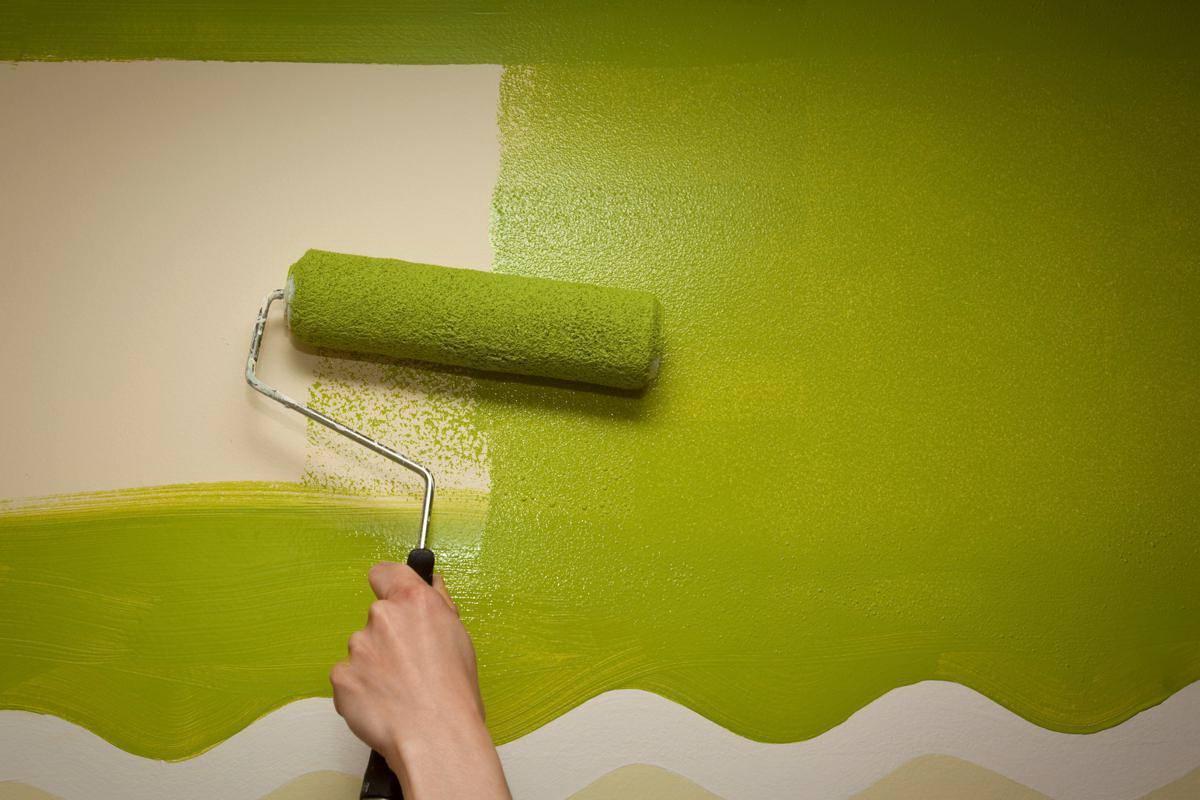 Какую краску выбрать для стен кухни и как ее правильно применять?