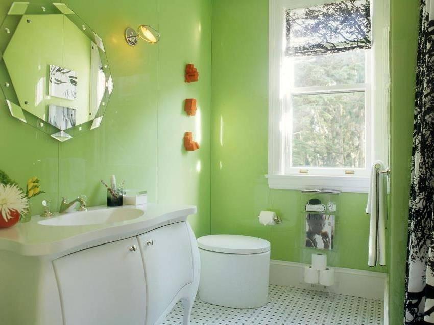 Краска для стен в ванной комнате: ремонт своими руками