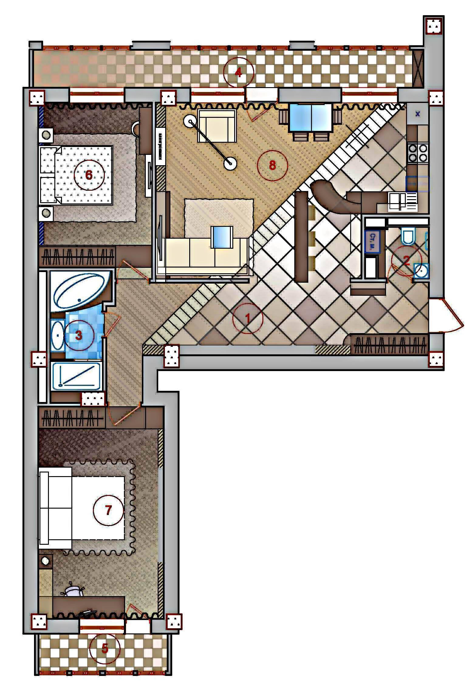 Перепланировка двухкомнатной квартиры в трехкомнатную и не только, примеры и проекты для хрущевки и других, идеи с примерами и фото